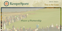 Kemper Sports Website